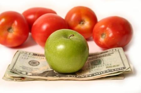 veggies save money