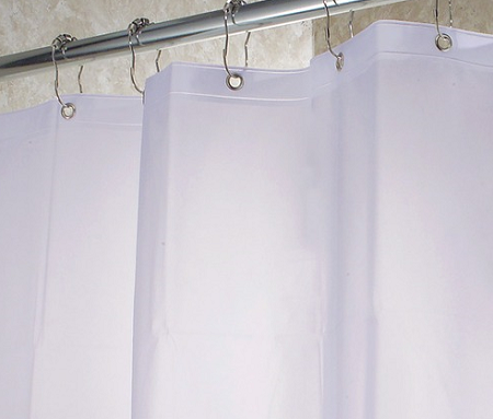 Washing Your Shower Curtain Liner: Either A Brand New Or A Totally Obvious  Trick